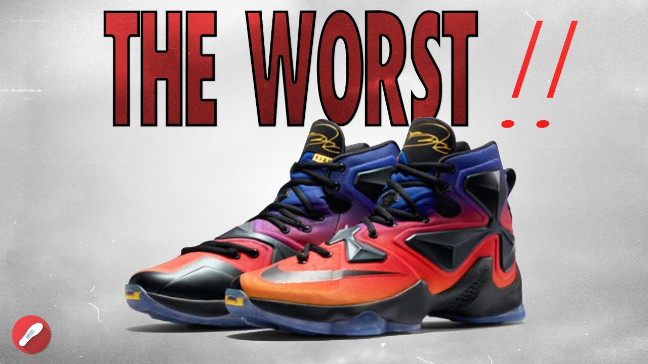 Worst Nike Shoes Ever