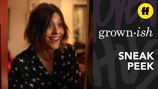 Grown Ish Season 2 Episode 15  Sneak Peek Nomi  Nterrupts Professor Hewsons Party  Freeform