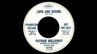 Patrice Holloway - Love And Desire