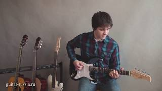 """Обзор электро-гитары  """"Fabio"""" Stratocaster"""