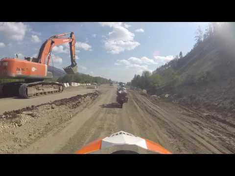 Road works Siberia