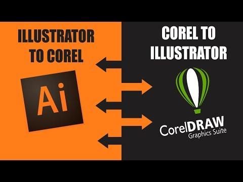Coreldraw để minh họa cho người vẽ tranh minh họa sang các tệp Coreldraw truyền tải một cách rất dễ dàng