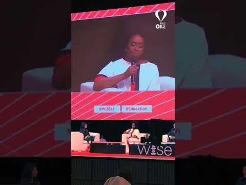 Chimamanda Ngozi Adichie no WISE 2017