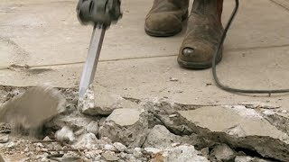 How To Remove A Concrete Slab - DIY At Bunnings