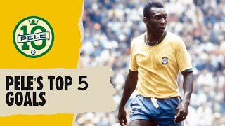 Pele's Top 5 Goals | FIFA World Cup