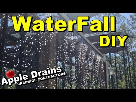 DIY, WaterFall, How to Make a Water Feature, Complete How To