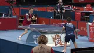 Table Tennis - GER vs GBR - Men