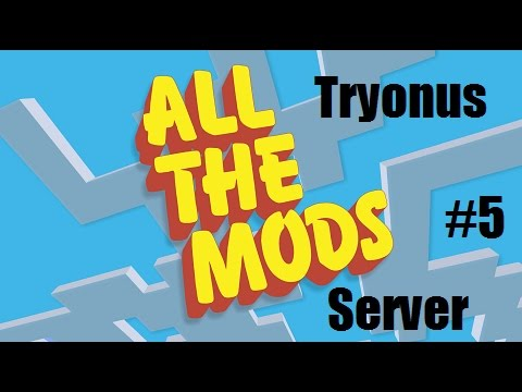 All The Mods Server Play : Ep#5 : Extra Utilities 2 Grid Power