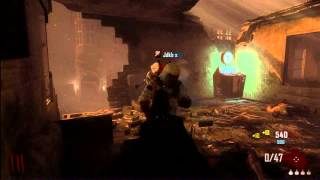 Black Ops 2 zombies invincibility glitch on Town *NEW* 2013