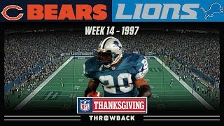 Barry Barrages Bears on Thanksgiving! (Bears vs. Lions 1997, Week 14)