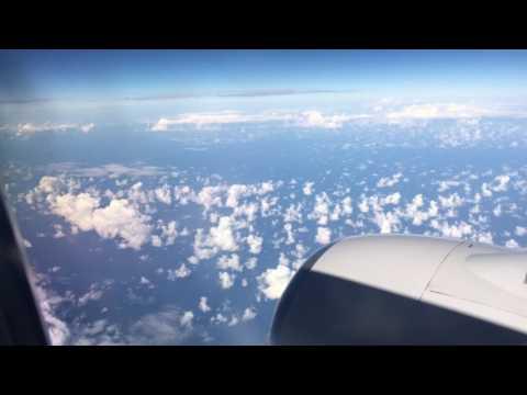 Volando sobre el golfo de mexico