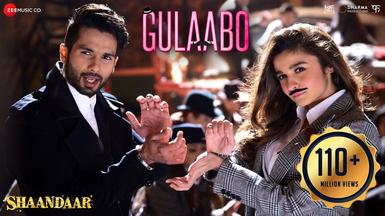 Download Gulaabo - Full Video| Shaandaar | Alia Bhatt & Shahid Kapoor | Vishal Dadlani | Amit Trivedi