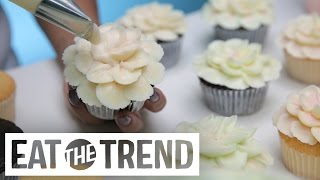 Magnolia Bakery Hibiscus Flower Cupcake | Eat the Trend