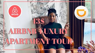 Gambar cover 13$ AIRBNB LUXURY APARTMENT TOUR IN CHINA: WORTH IT OR NOT ?