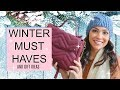 WINTER MUST HAVES 2018   GIFT GUIDE IDEAS   SUMMER AND ROSE