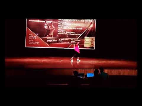 🌷✌Riya maid sport dance national level championship his got 3 prize ✌🌷