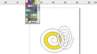Уроки Корел. Corel Draw X5 для новичков. Интеллектуальная заливка (4.13) Хорошее качество видео урок