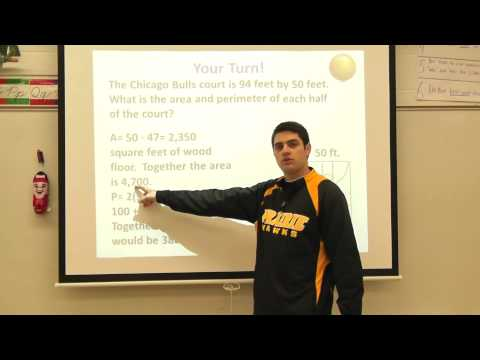 Covering and Surrounding Problem 1.3 Area and Perimeter with Basketball