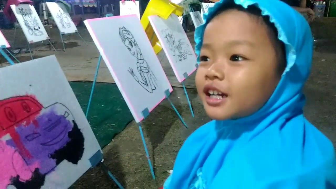 Asah Kreativitas Anak Dengan Mewarnai Gambar Sesuai Keinginannya
