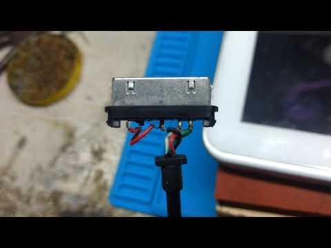 Samsung Galaxy Tab 2 Charging Pin Out Data Cable