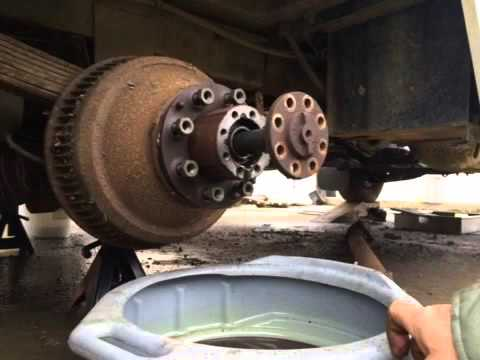 1989 Chevy dually rear drum removal with simple tools  YouTube