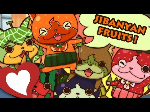 YO-KAI WATCH 2 - COMMENT DEVENIR AMI AVEC... LES JIBANYAN FRUITS !