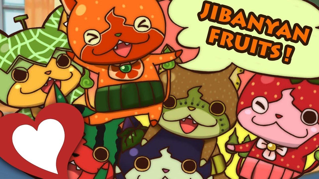 Yo Kai Watch 2 Comment Devenir Ami Avec Les Jibanyan Fruits