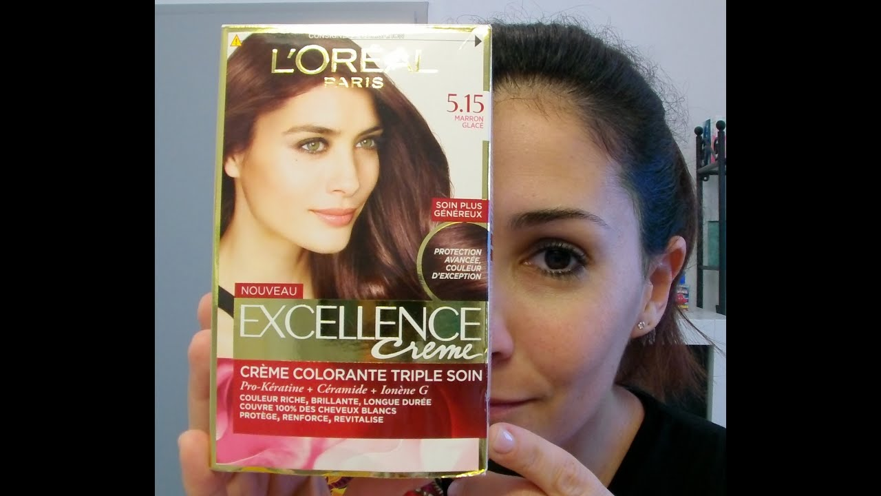 excellence crme 515 de loral srum protecteurembout peigne youtube - Coloration Excellence