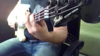 The Prosecution   The Haunted [Bass Cover]