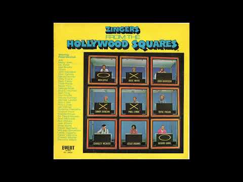 Zingers From The Hollywood Squares (1974 LP - Side 1)