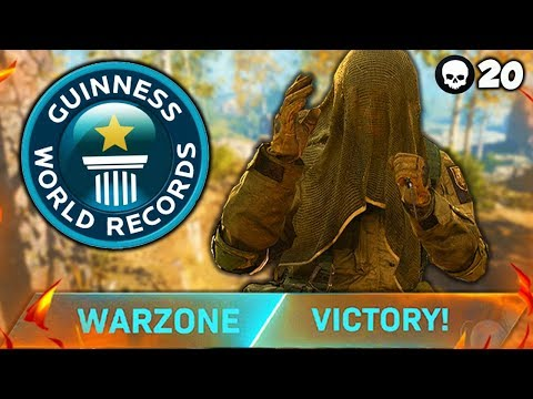 20 KILL KNIFE ONLY TRIO WIN!! (WARZONE WORLD RECORD)