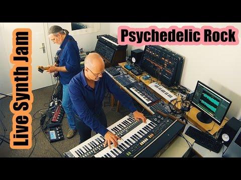 Psychedelic Rock Live Synth Jam    ARP 2600, Volca Keys, Electribe, Roland Vocoder, Strymon BigSky
