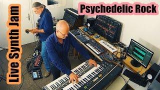 Psychedelic Rock Live Synth Jam |  ARP 2600, Volca Keys, Electribe, Roland Vocoder, Strymon BigSky