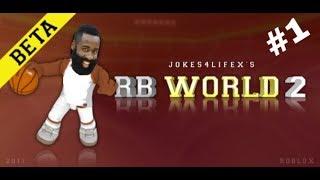 Roblox RB World 2 - James hardennn highlights episode 1