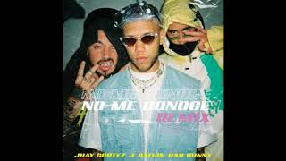 Jhay Cortez Feat. J Balvin Y Bad Bunny - No Me Conoce  - Remix  (Audio)