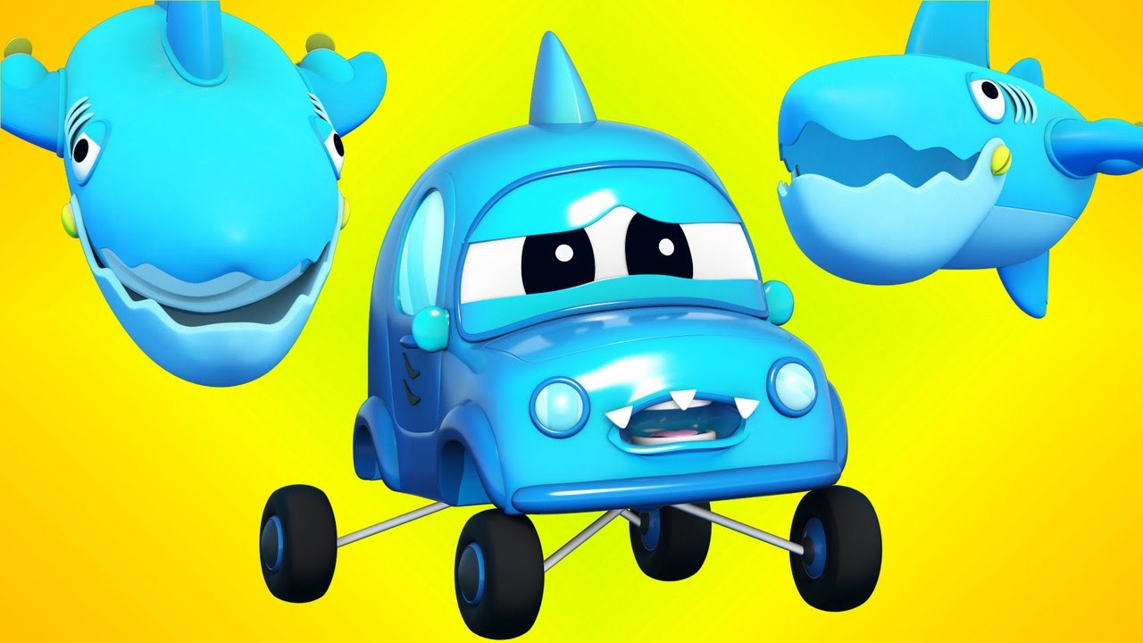 想吃落水小汽车的鲨鱼 | Super Truck | 汽车城世界APP