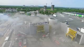 """Пожар в казанском ТЦ """"Порт"""""""