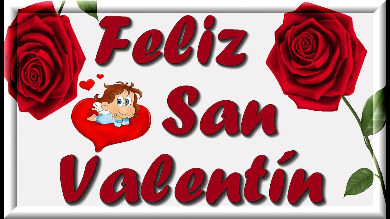Feliz San Valentín Feliz Día De Los