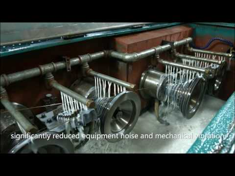 automatic slow wire drawing machine