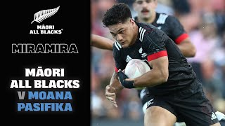 HIGHLIGHTS | Māori All Blacks v Moana Pasifika