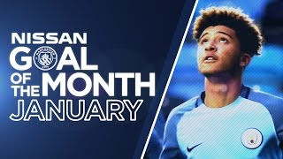 GOAL OF THE MONTH! | AGUERO, CLICHY, SANCHO & FERNANDES! | JANUARY