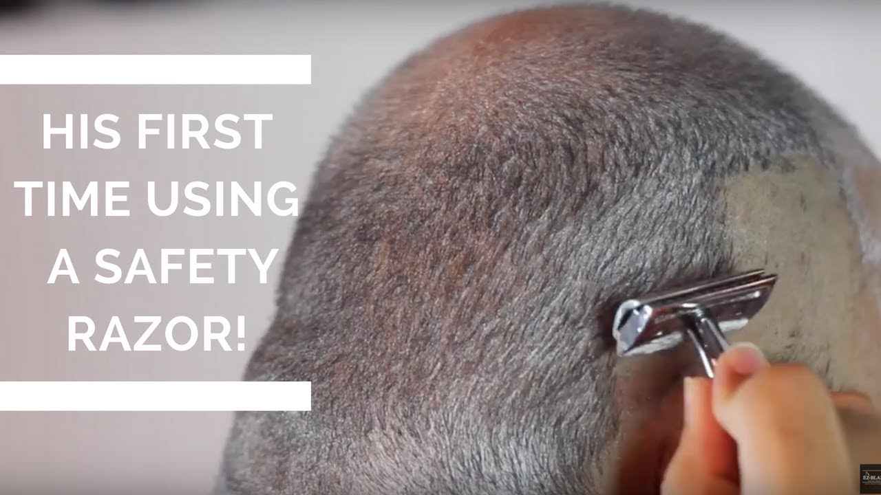 How To Shave Your Head With A Safety Razor  First Time -1628
