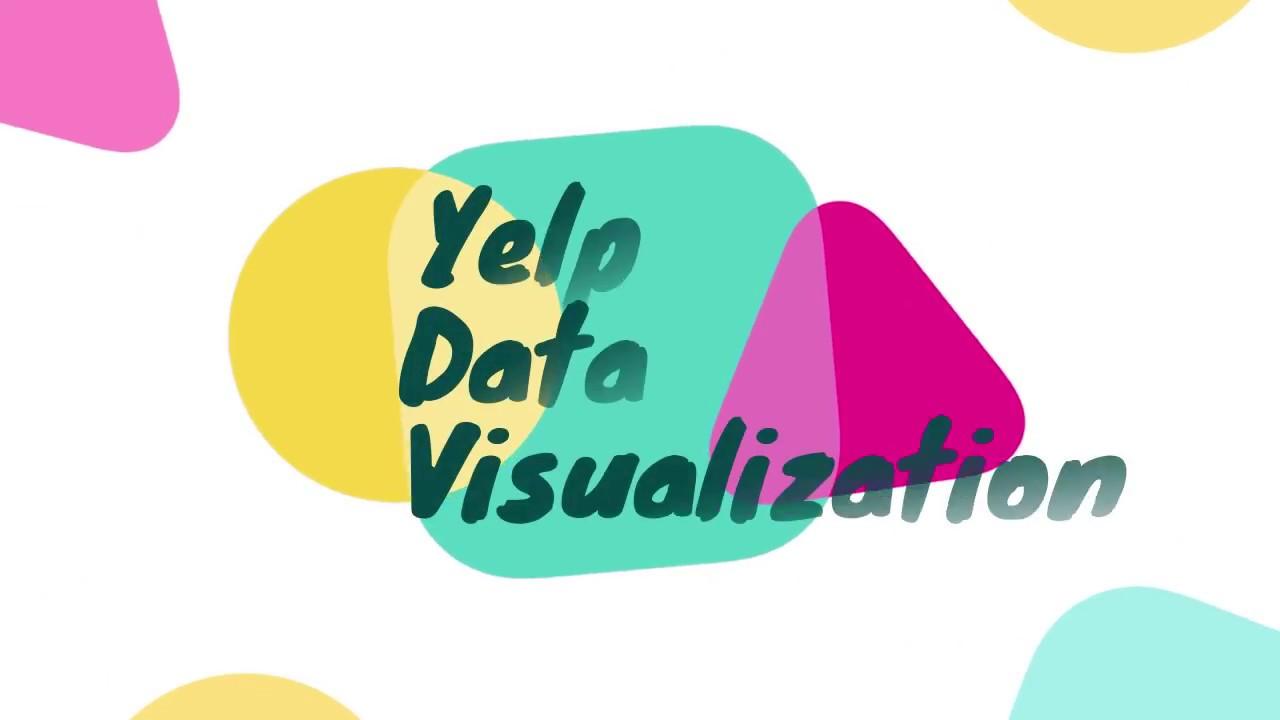 Yelp Data Visualization (D3, Tableau)