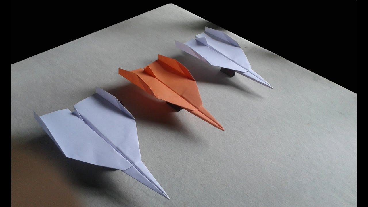 how to build a paper airplane that flies far