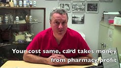 The truth about prescription discount cards
