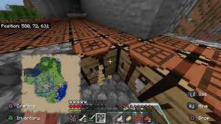 New Mincraft Nether Update Making My House Out Of Crafting Tables (Episode 1 The New Series)