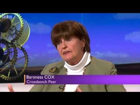 Baroness Cox discusses Sharia law on BBC Daily Politics