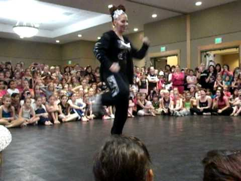 Dena Rizzo showcase at Showstopper Dance Concention 2010