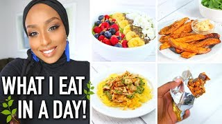 WHAT I EAT IN A DAY 2018! | Healthy & Weight Loss Friendly (GF + Dairy Free) | Aysha Abdul
