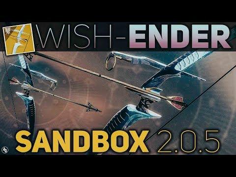 Wish-Ender BUFF Review (Sandbox 2.0.5) | Destiny 2 Forsaken